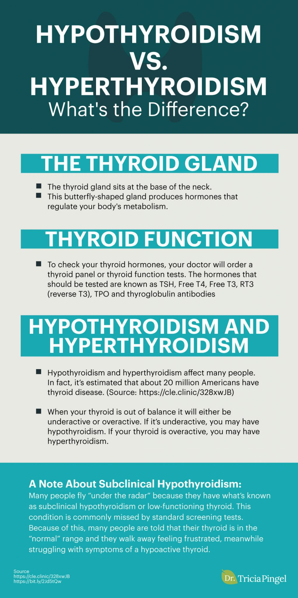 The thyroid gland - Dr. Pingel