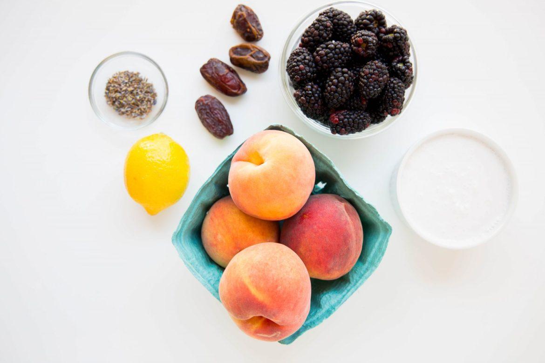 Homemade peach ice cream - Dr. Pingel