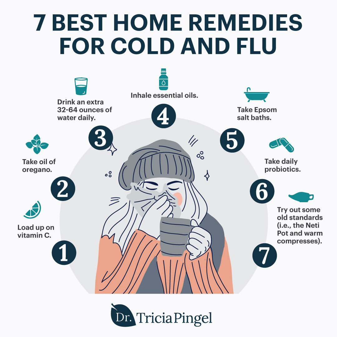 7 cold and flu home remedies - Dr. Pingel