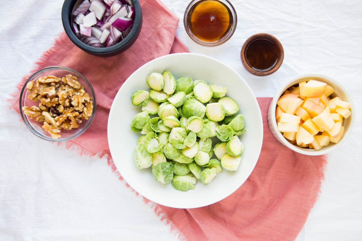 Maple balsamic brussels sprouts - Dr. Pingel