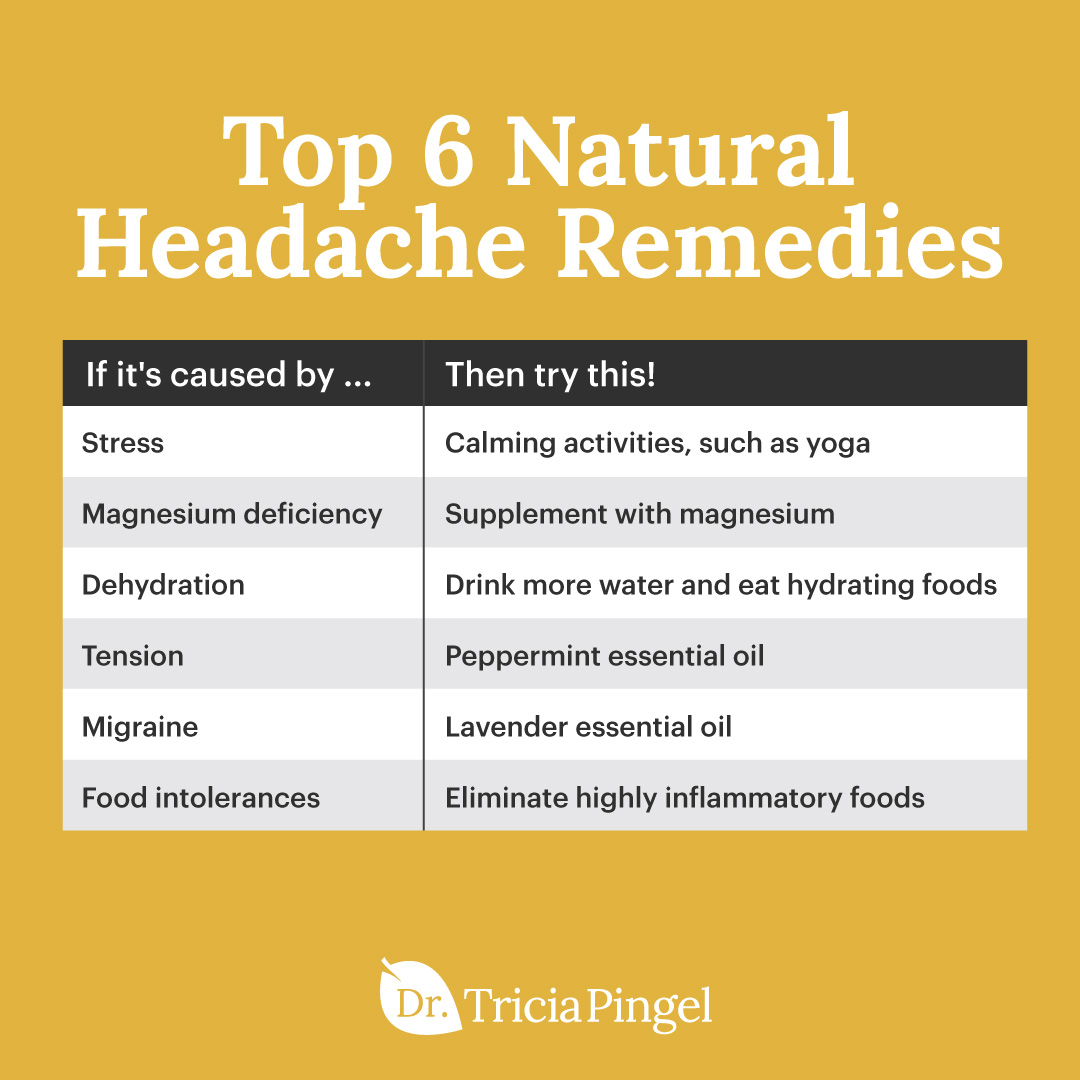 Natural ways to get rid of headaches - Dr. Pingel