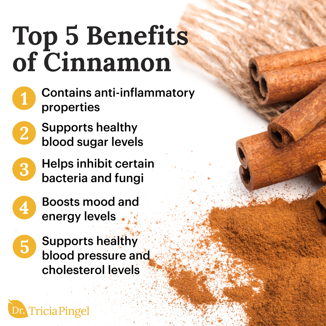 Health benefits of cinnamon - Dr. Pingel