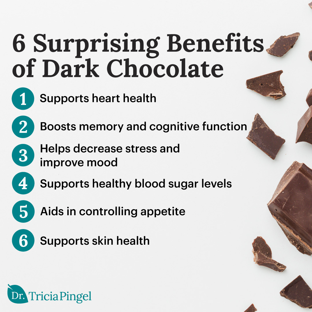 The health benefits of dark chocolate - Dr. Pingel