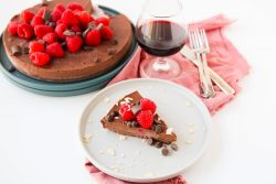 Easy flourless chocolate cake - Dr. Pingel