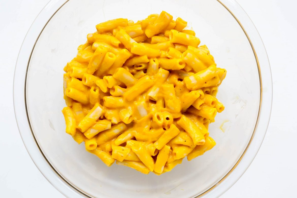 Butternut vegan mac and cheese - Dr. Pingel