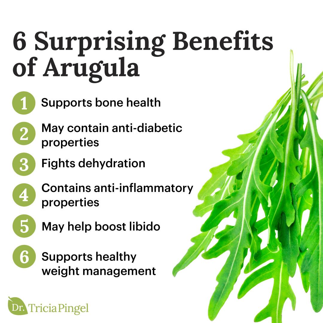 Arugula benefits - Dr. Pingel
