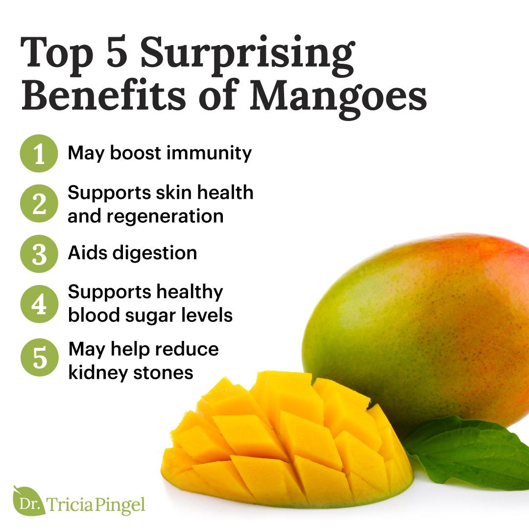 Mango nutritional benefits - Dr. Pingel