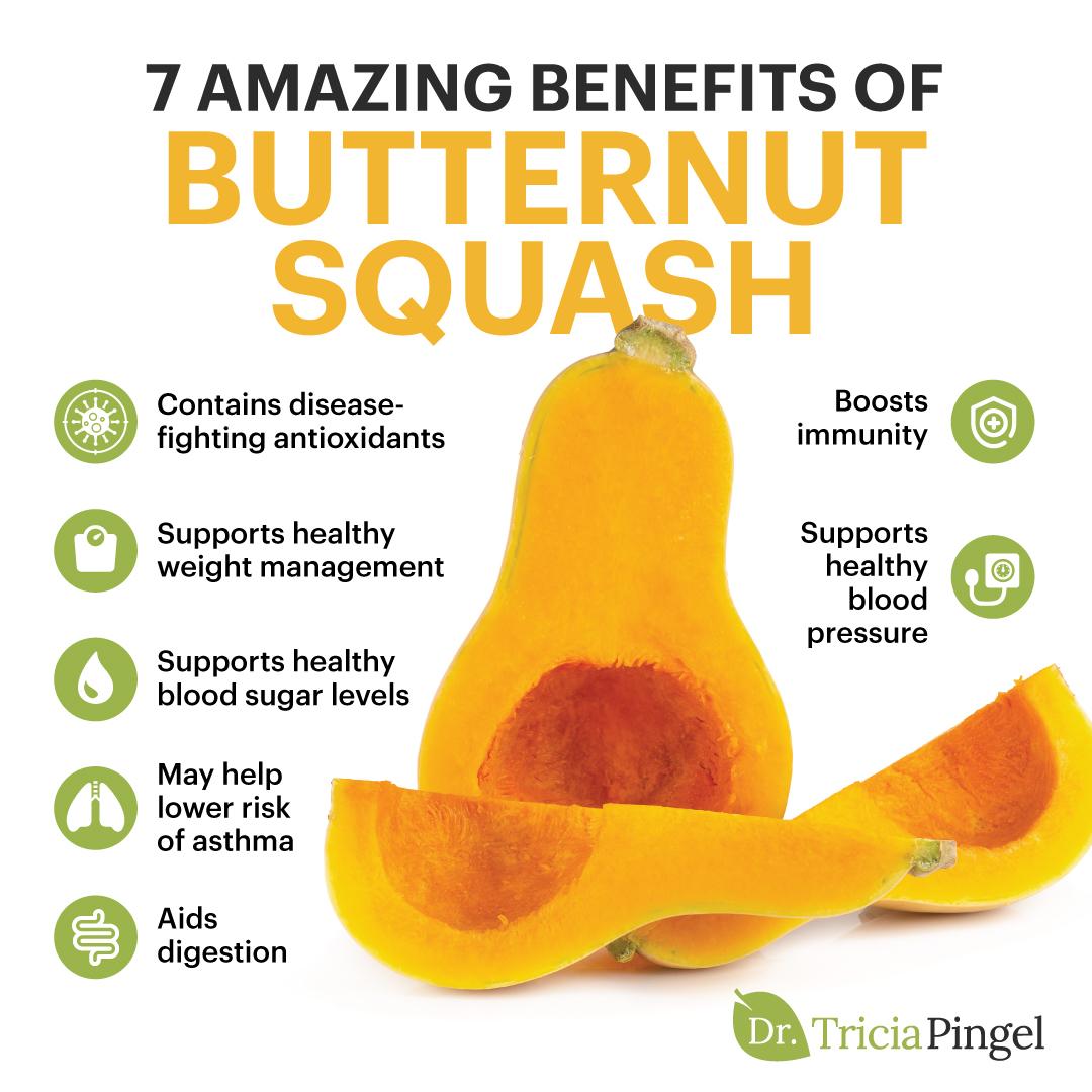 Butternut squash health benefits - Dr. Pingel