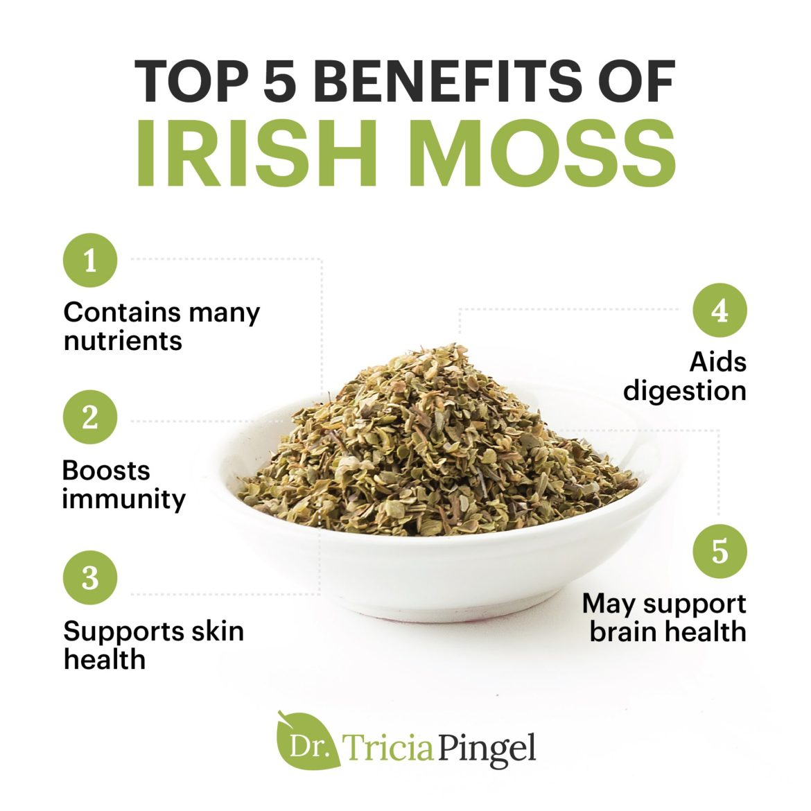 Irish moss benefits - Dr. Pingel