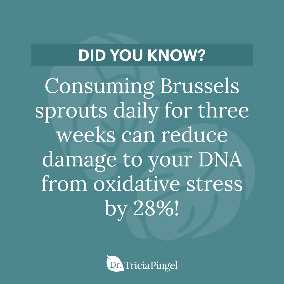 Brussels sprouts benefits - Dr. Pingel