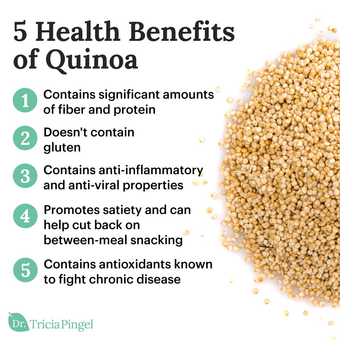 Quinoa health benefits - Dr. Pingel