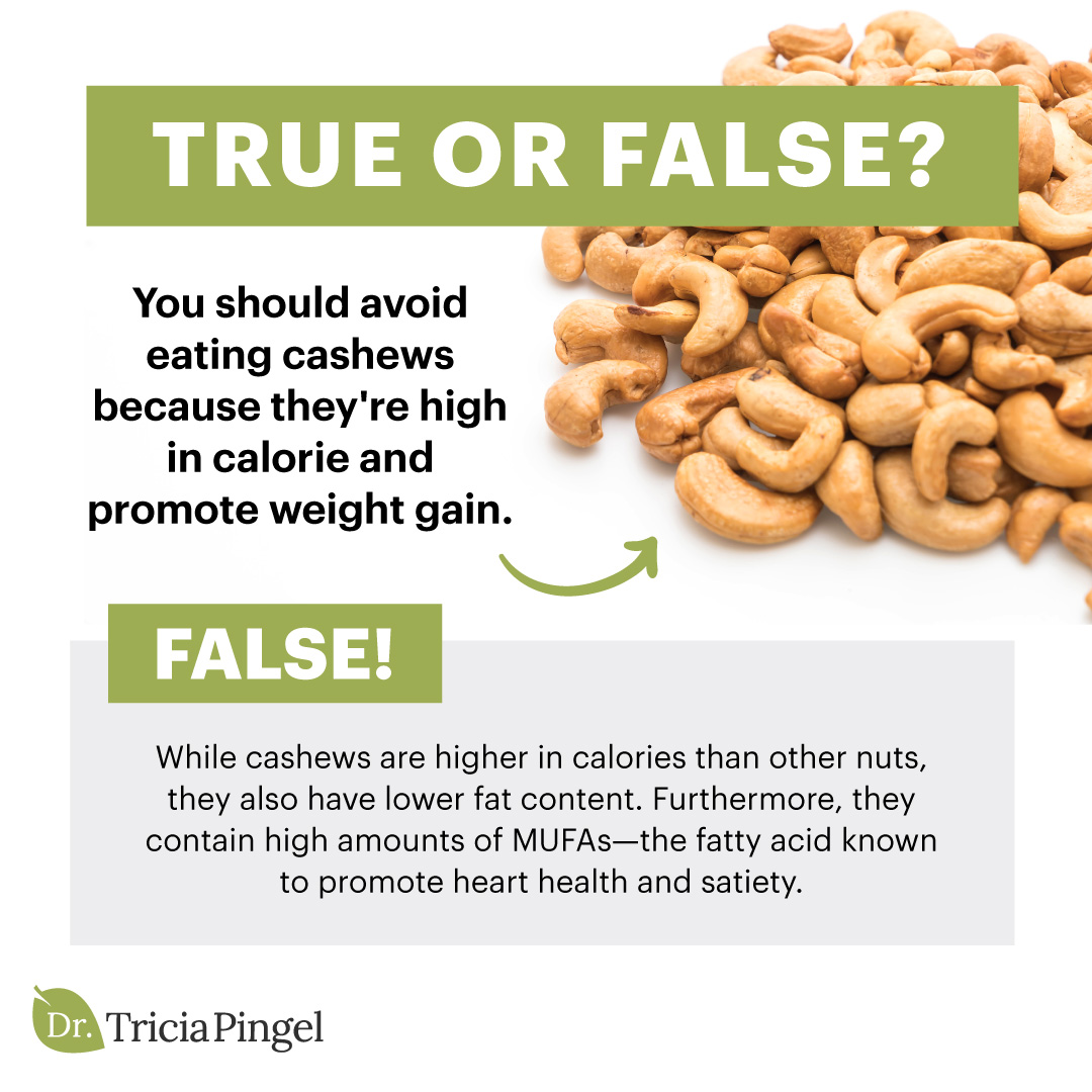 Nutritional benefits of cashews - Dr. Pingel