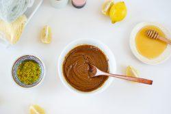 Honey lemon sugar scrub - Dr. Pingel