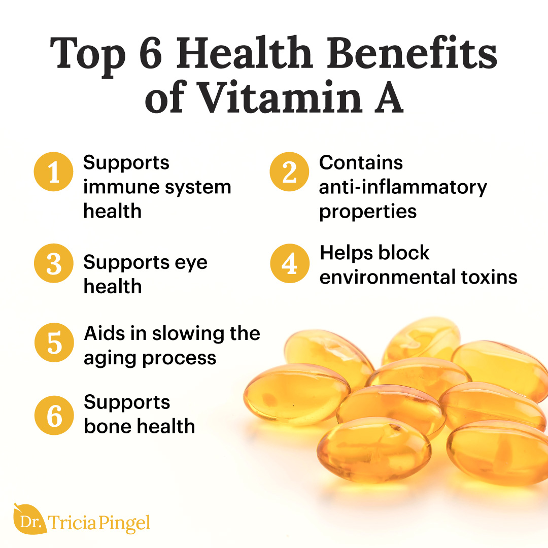 Health benefits of vitamin a - Dr. Pingel