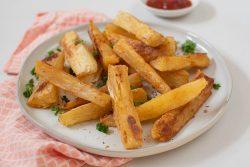Cassava fries - Dr. Pingel
