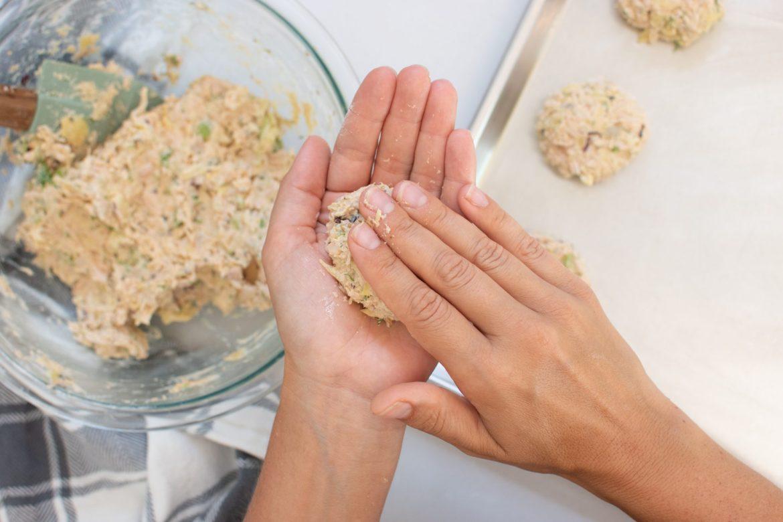 Easy vegan crab cakes - Dr. Pingel