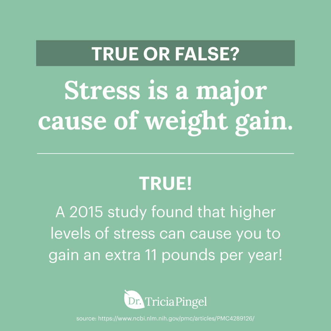Stress and weight gain - Dr. Pingel