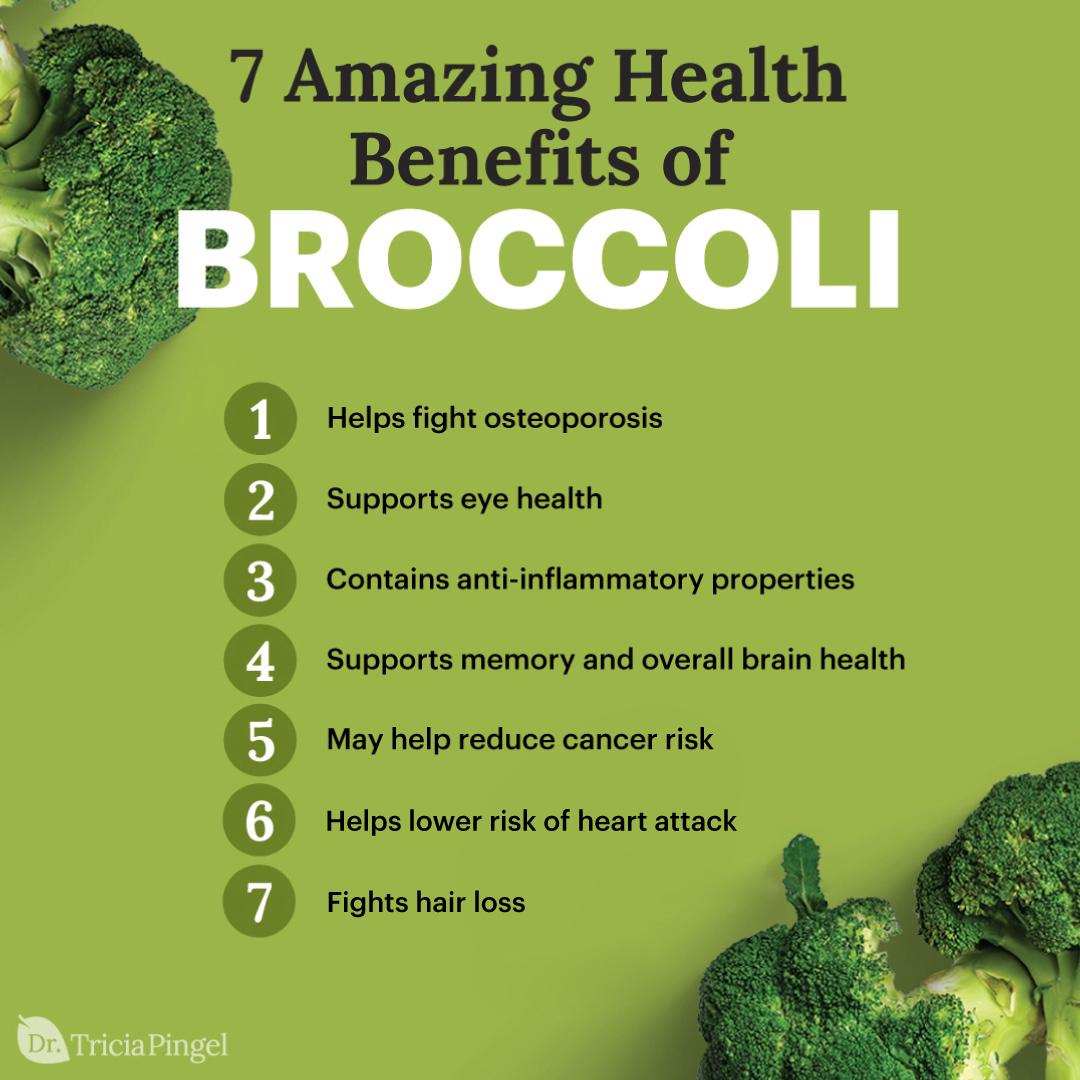 Broccoli benefits - Dr. Pingel