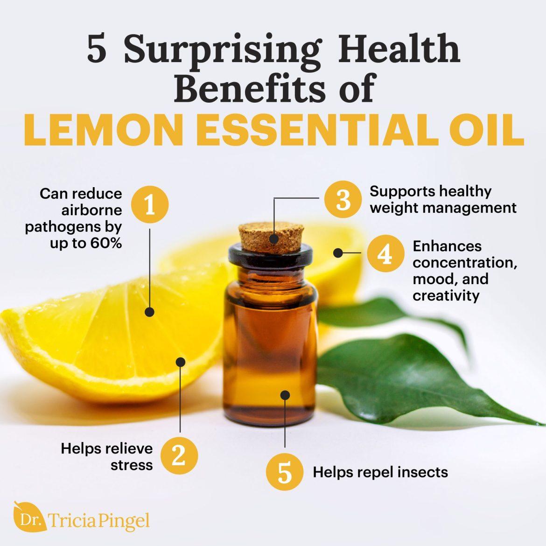 Lemon essential oil benefits - Dr. Pingel