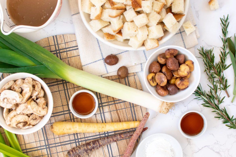 Chestnut stuffing recipe - Dr. Pingel