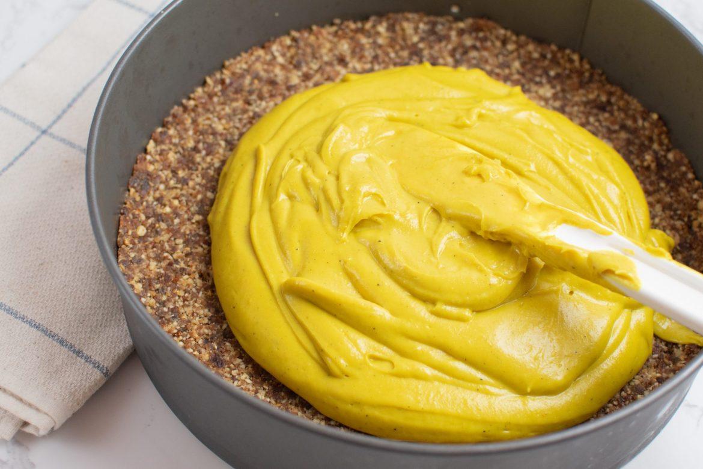 Cashew cheesecake - Dr. Pingel