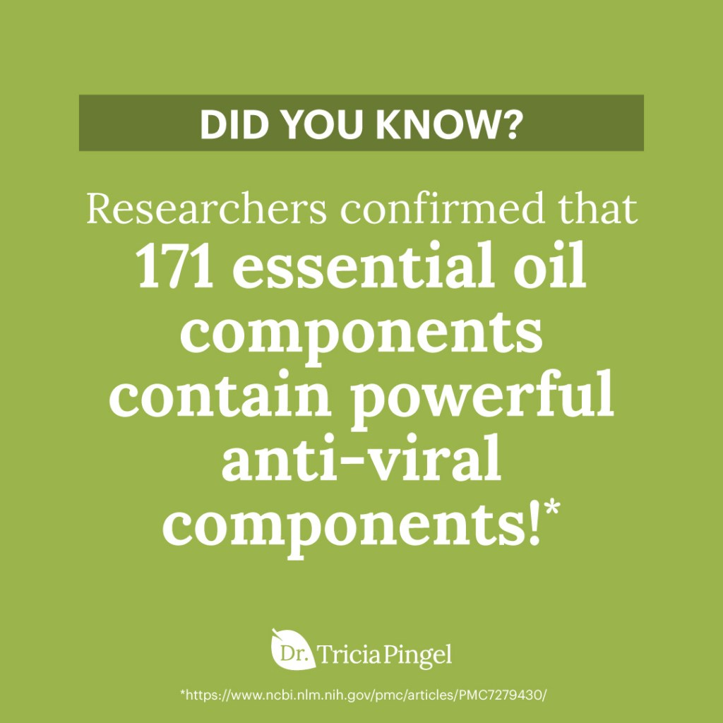 Anti-viral essential oils - Dr. Pingel