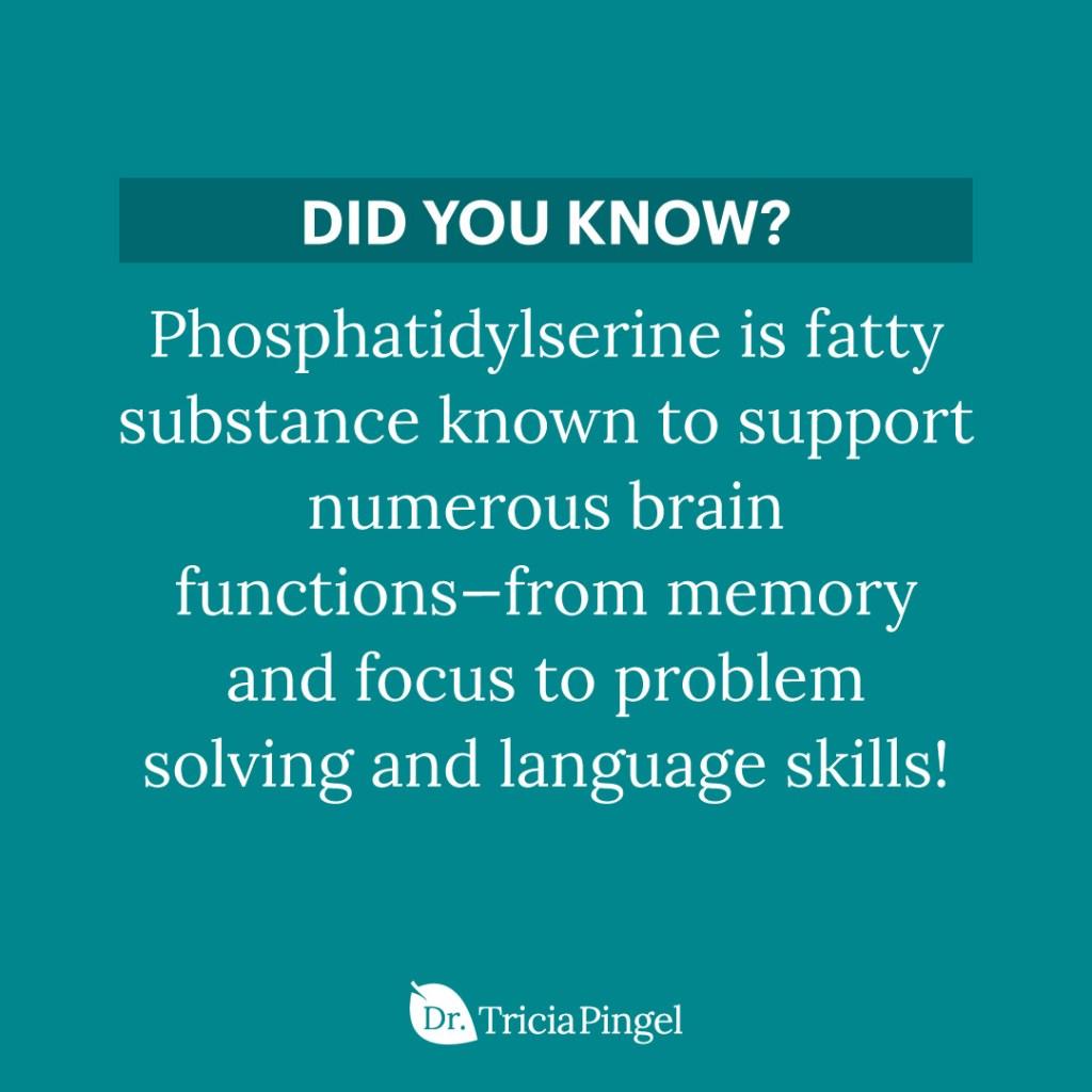 Phosphatidylserine - Dr. Pingel