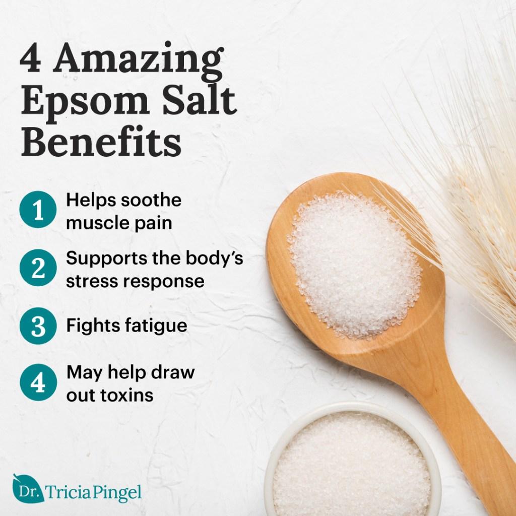 Epsom salt benefits - Dr. Pingel