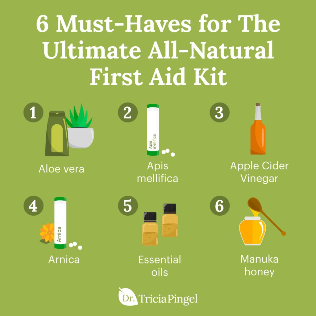Natural first aid kit - Dr. Pingel