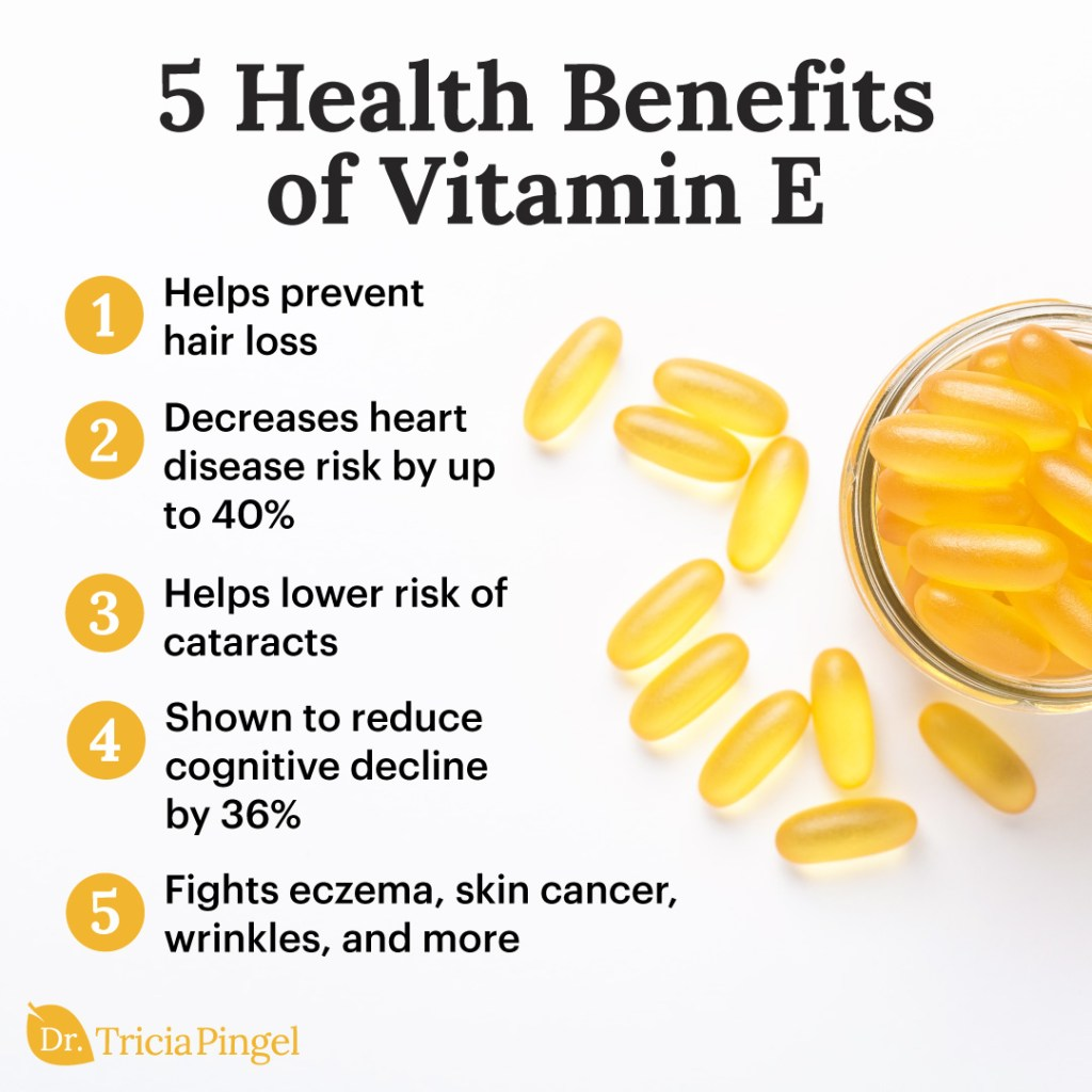 Health benefits of vitamin e - Dr. Pingel