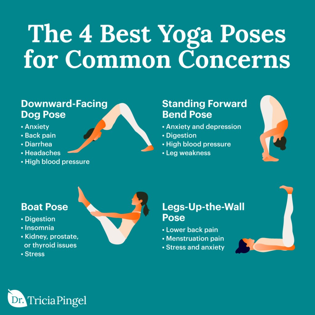 Yoga poses - Dr. Pingel