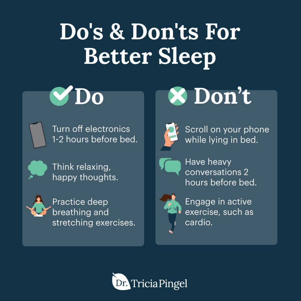 Nighttime routines for better sleep - Dr. Pingel