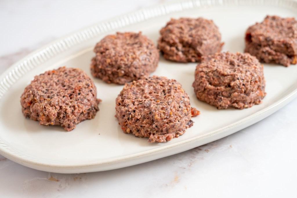 Easy black bean burger recipe - Dr. Pingel