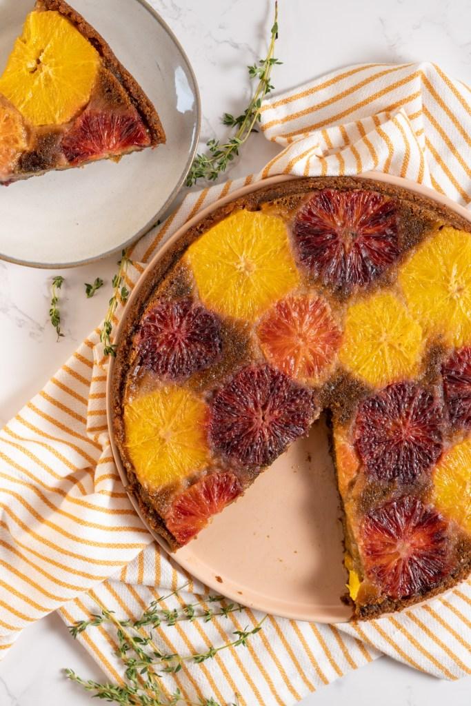 Vegan olive oil cake - Dr. Pingel