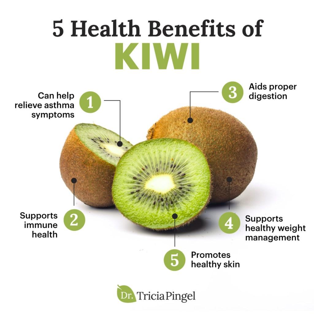 Kiwi benefits - Dr. Pingel