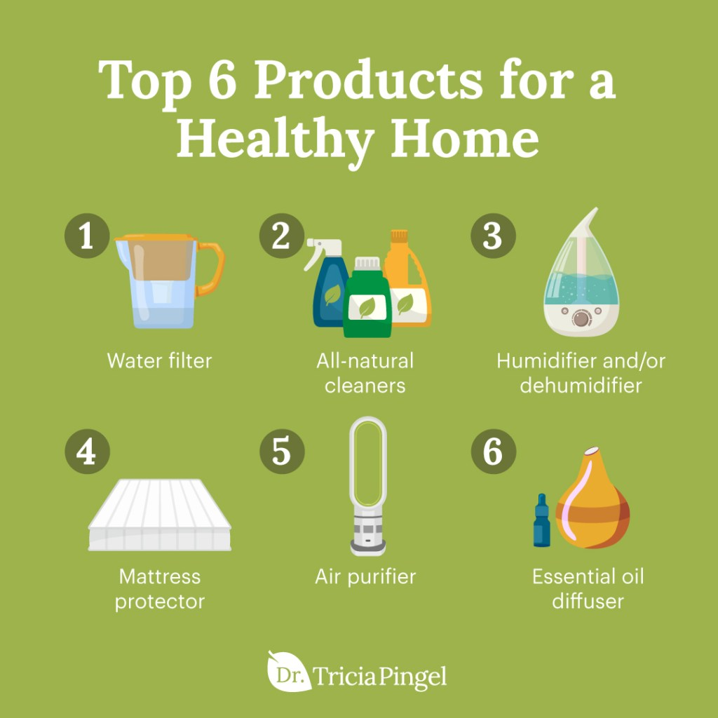 Healthy home products - Dr. Pingel