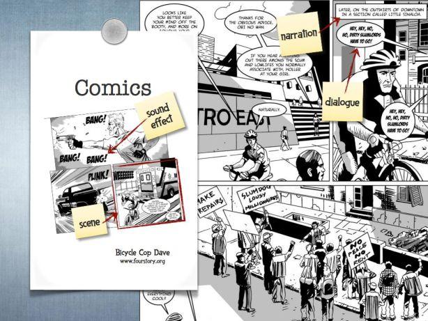 comics as storyboard