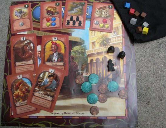 Havana game pieces