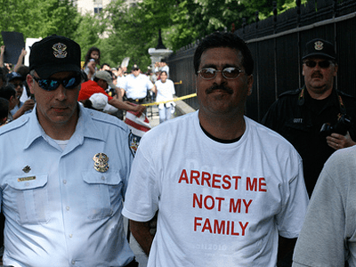 Arrest me, not my family