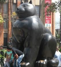 Botero fat cat