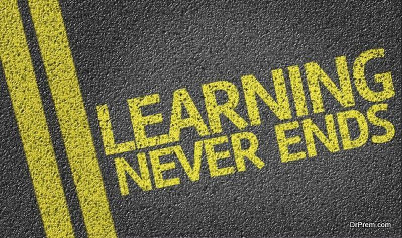 Keep learning aAXll your life