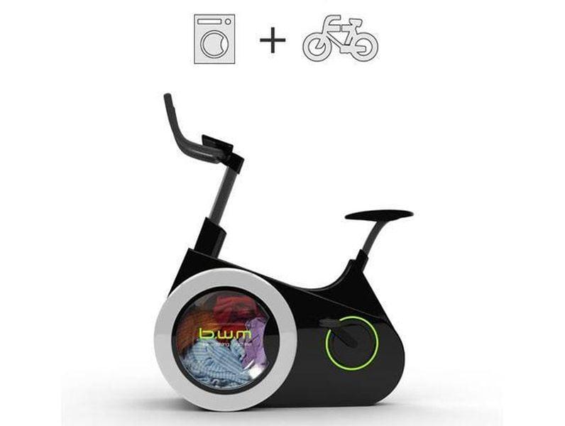 Incredible bike washing machine