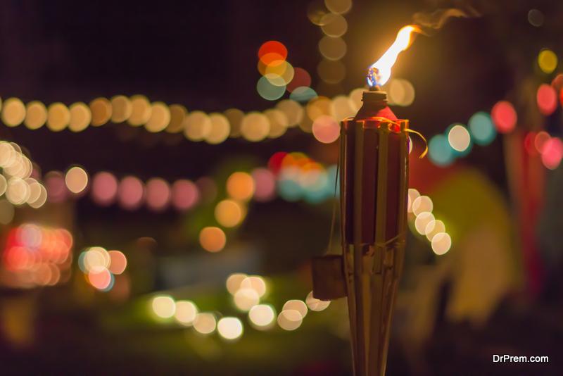 DIY Tiki torch ideas