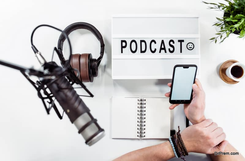 How to start your own podcast from home