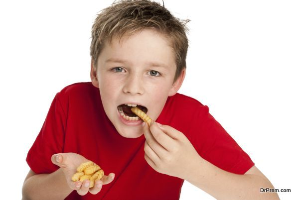 Stop your kids eating fast food