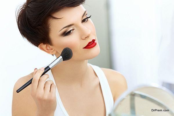 makeup in natural light