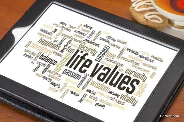 values and ethics in life