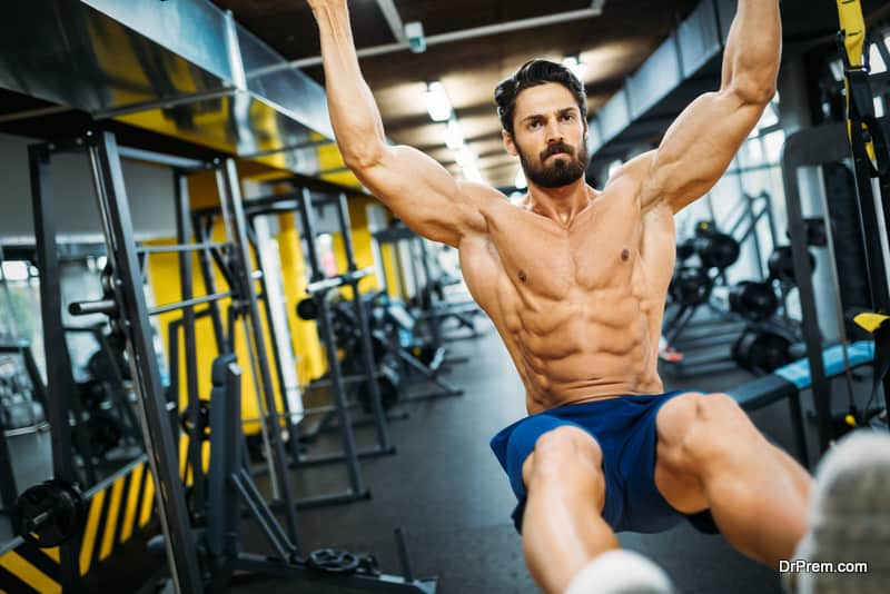 Exercise improves your physique and stamina
