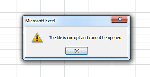 Corrupted files