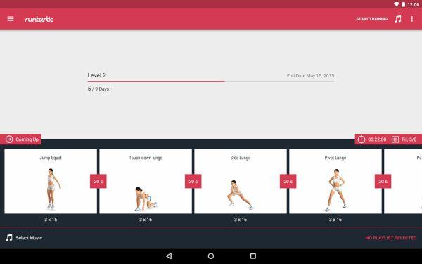 Runtastic leg trainer app 4